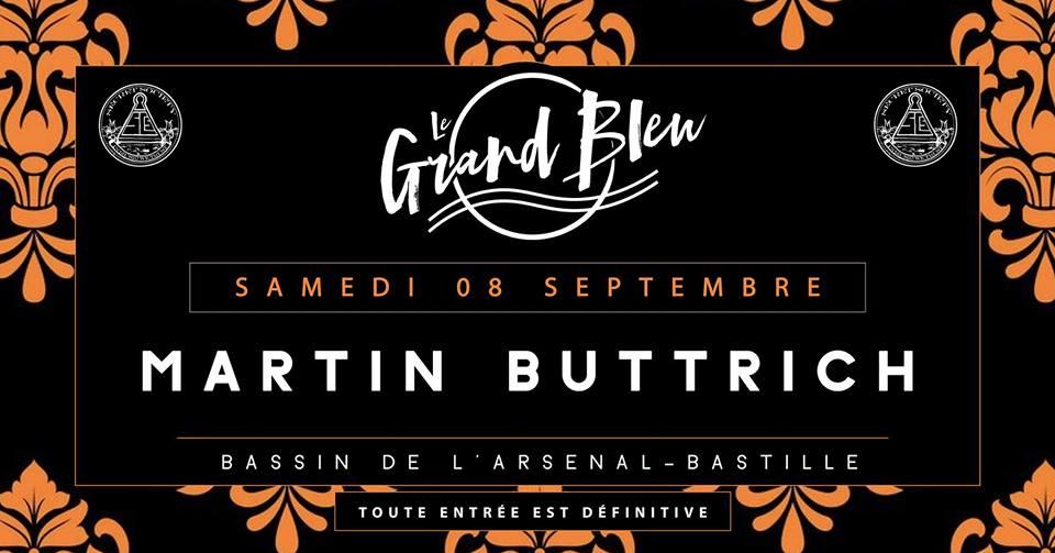 Matrin Buttrich - @Grand Bleu, Paris
