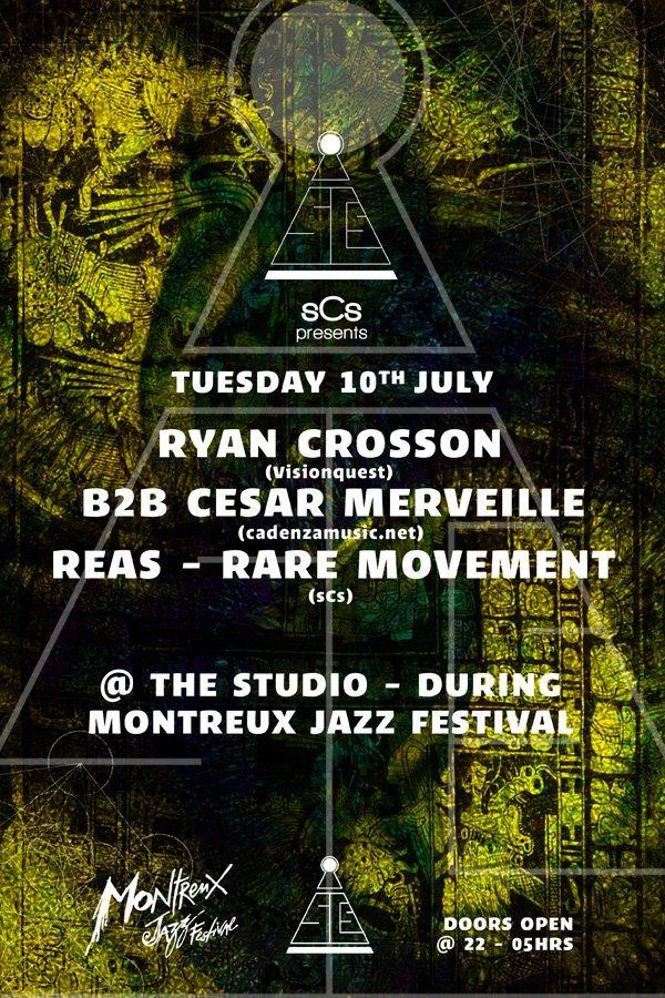 Ryan Crosson b2b Cesar Merveille, Reas & Rare Movement - @MJF