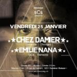 Chez Damier & Emilie Nana - @Silencio