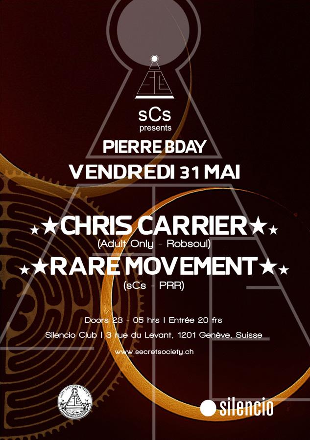 Chris Carrier & Rare Movement - @Silencio