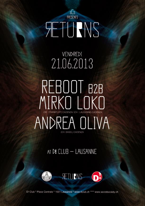 Reboot b2b Mirko Loko & Andrea Oliva - @D! Club