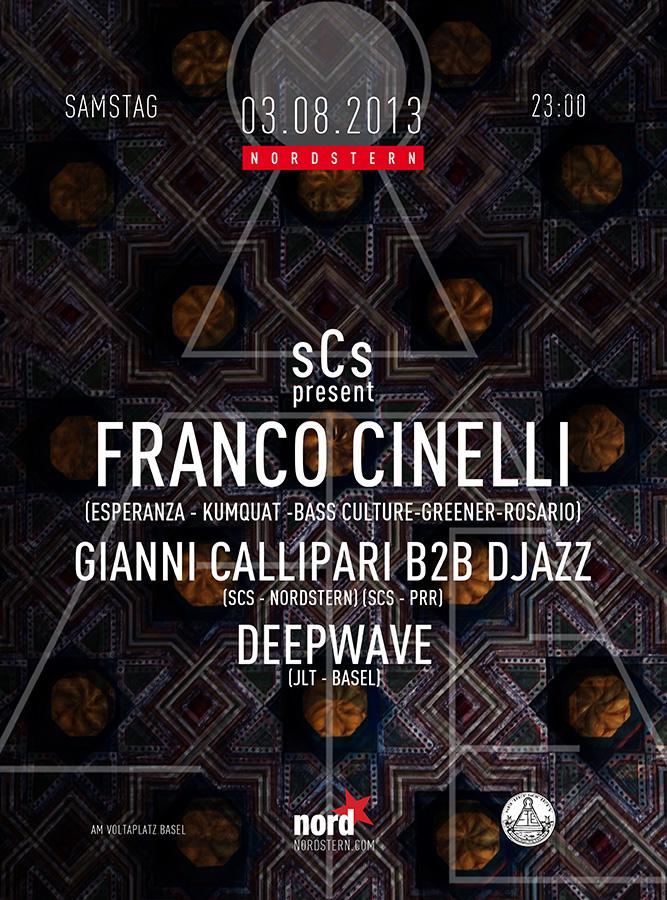 Franco Cinelli, Gianni Callipari b2b Djazz - @Nordstern