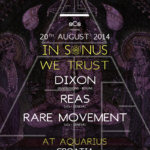 Sonus 2014 w/ Dixon, Reas & Rare Movement