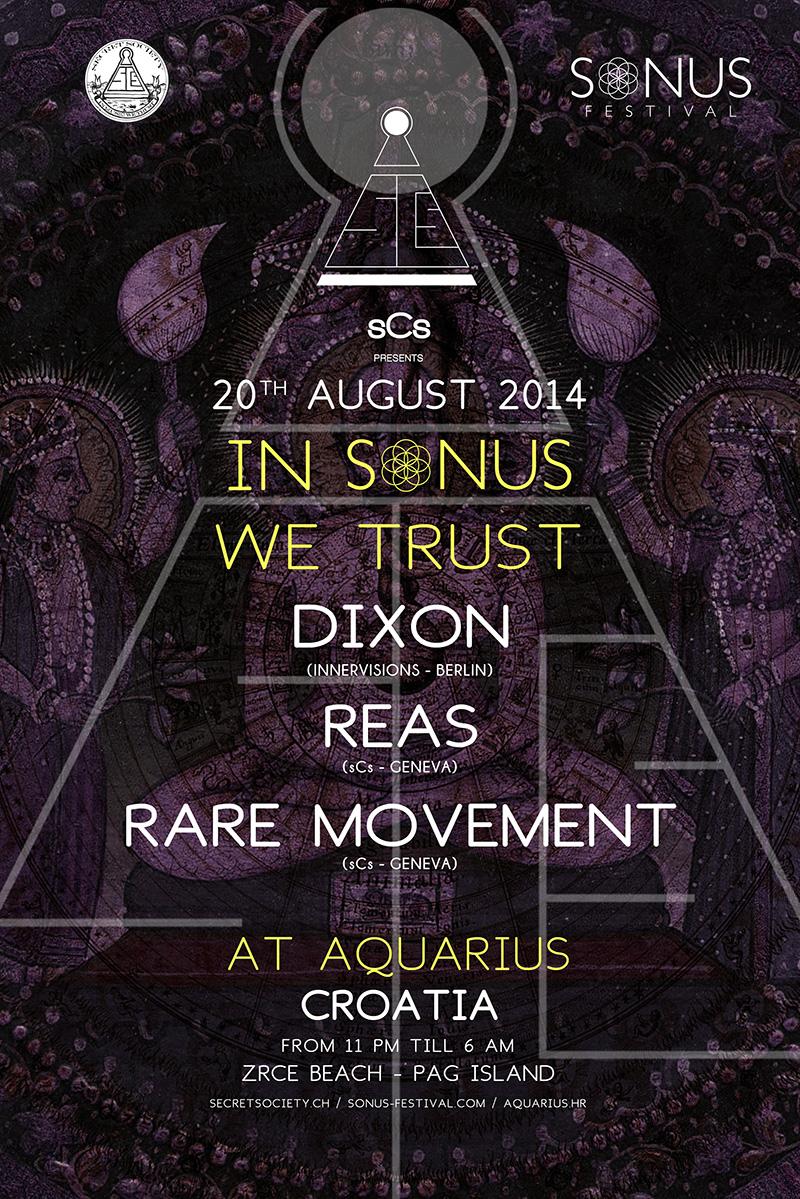 Sonus 2014 w/ Dixon, Reas & Rare Movement