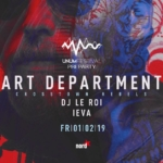 UNUM Pre-Party in Basel w/ Art Department, DJ Le Roi & Ieva