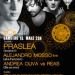 Praslea, Alenjandro Mosso, Andrea Oliva & Dj Reas - @Nordstern