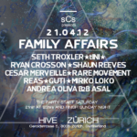 Family Affairs pt. 1 : Seth Troxler, Ryan Crosson, tINI, Shaun Reeves... - @Hive