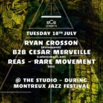 Ryan Crosson b2b Cesar Merveille, Reas & Rare Movement - @MJF