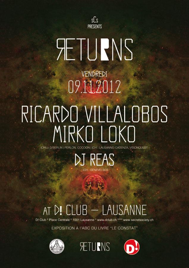 Ricardo Villalobos, Mirko Loko & Dj Reas - @D! Club