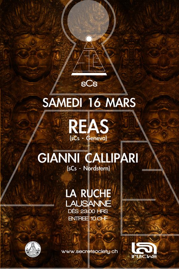 Dj Reas & Gianni Callipari - @La Ruche