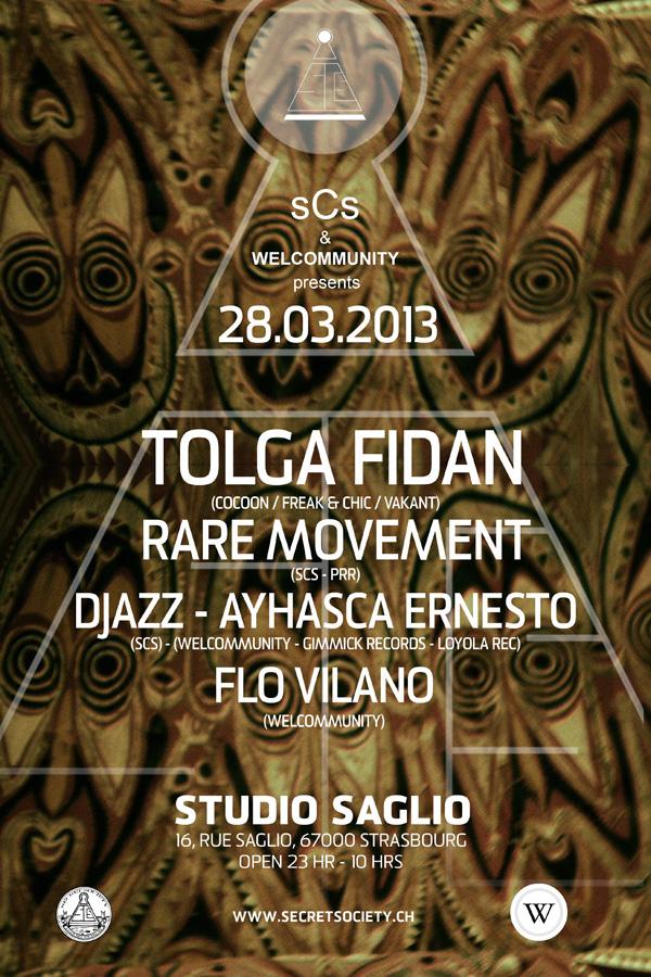 Tolga Fidan & Rare Movement - @Studio Saglio