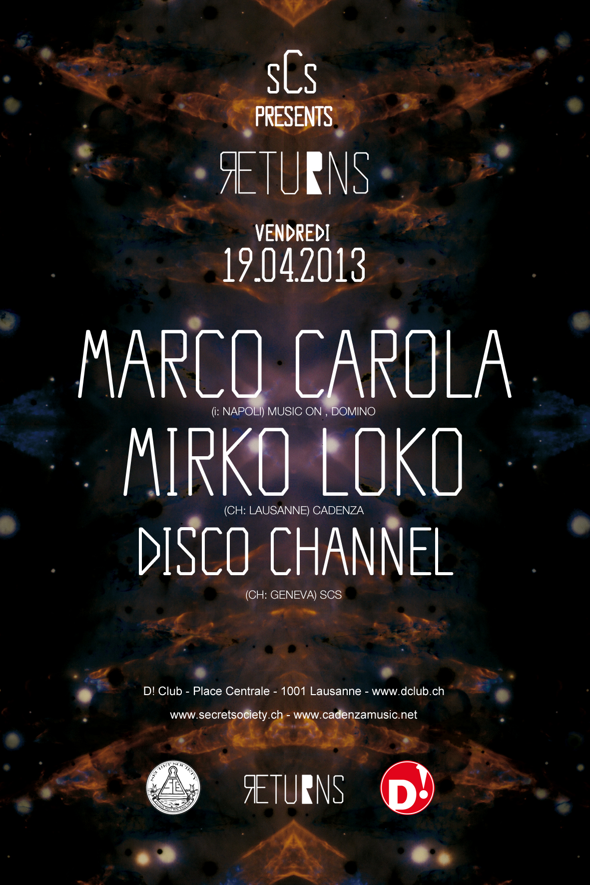 Marco Carola & Mirko Loko - @D! Club