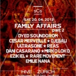 Family Affairs pt. 2 : Dyed, Cesar, Djebali, Ultrasone, Reas, Mirko... - @Hive