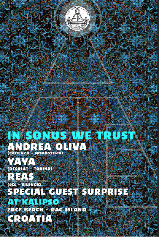 Sonus 2013 w/ Andrea Oliva, Yaya & Reas