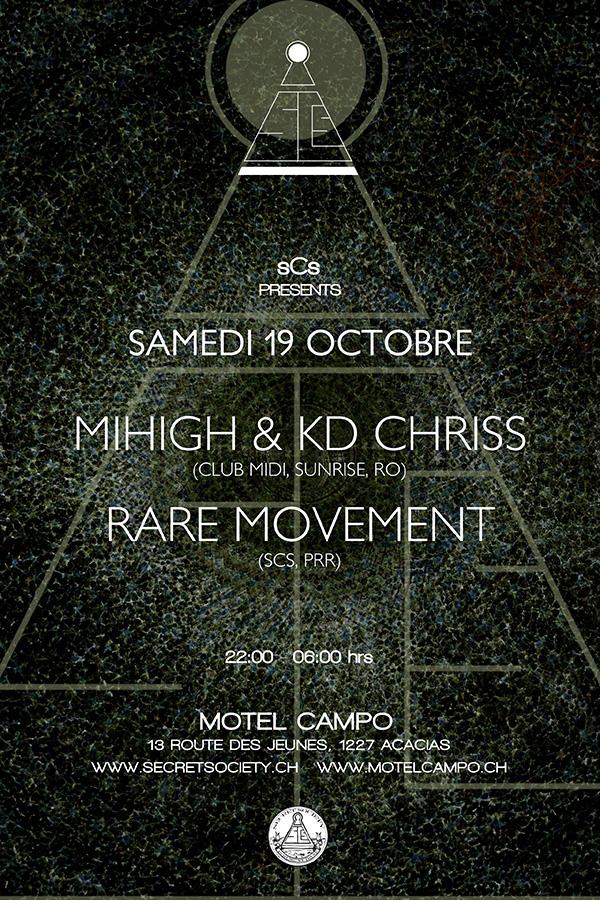 Mihigh&KD Chriss & Rare Movement - @Motel Campo