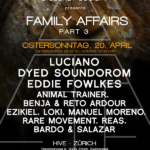 Family Affairs pt. 3 : Luciano, Dyed, Eddie Fowlkes, Ezikiel, Reas, Rare Movement... - @Hive