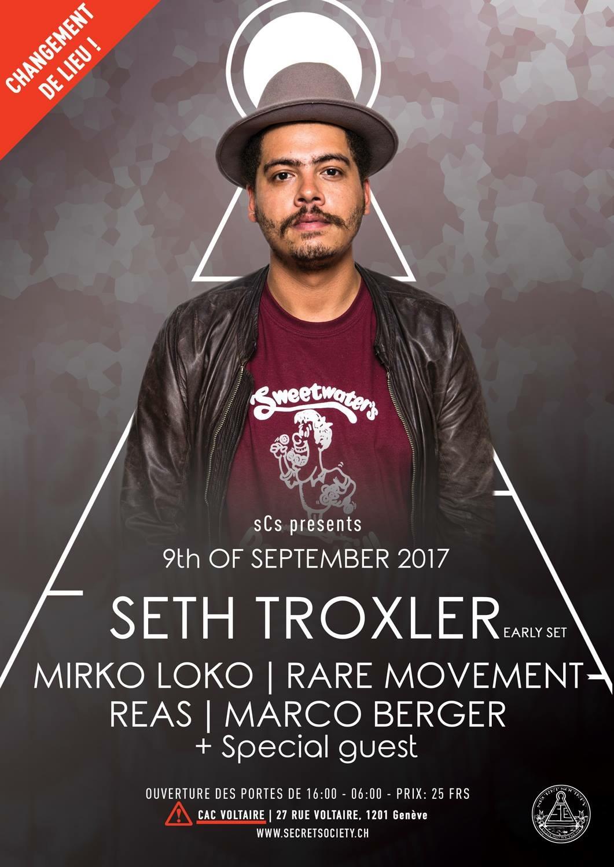Seth Troxler, Mirko Loko, Rare Movement, Reas & Marco Berger - @CACG