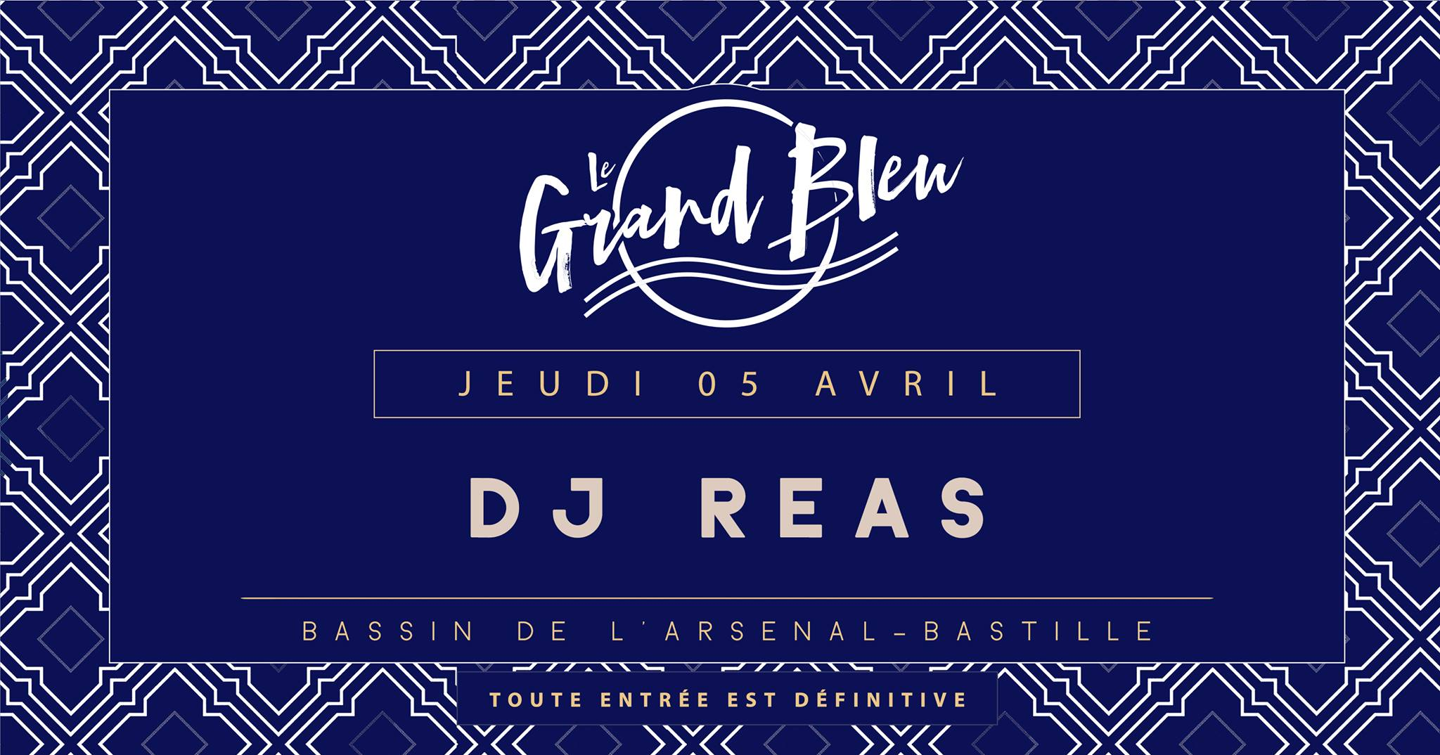 Dj Reas - @Grand Bleu