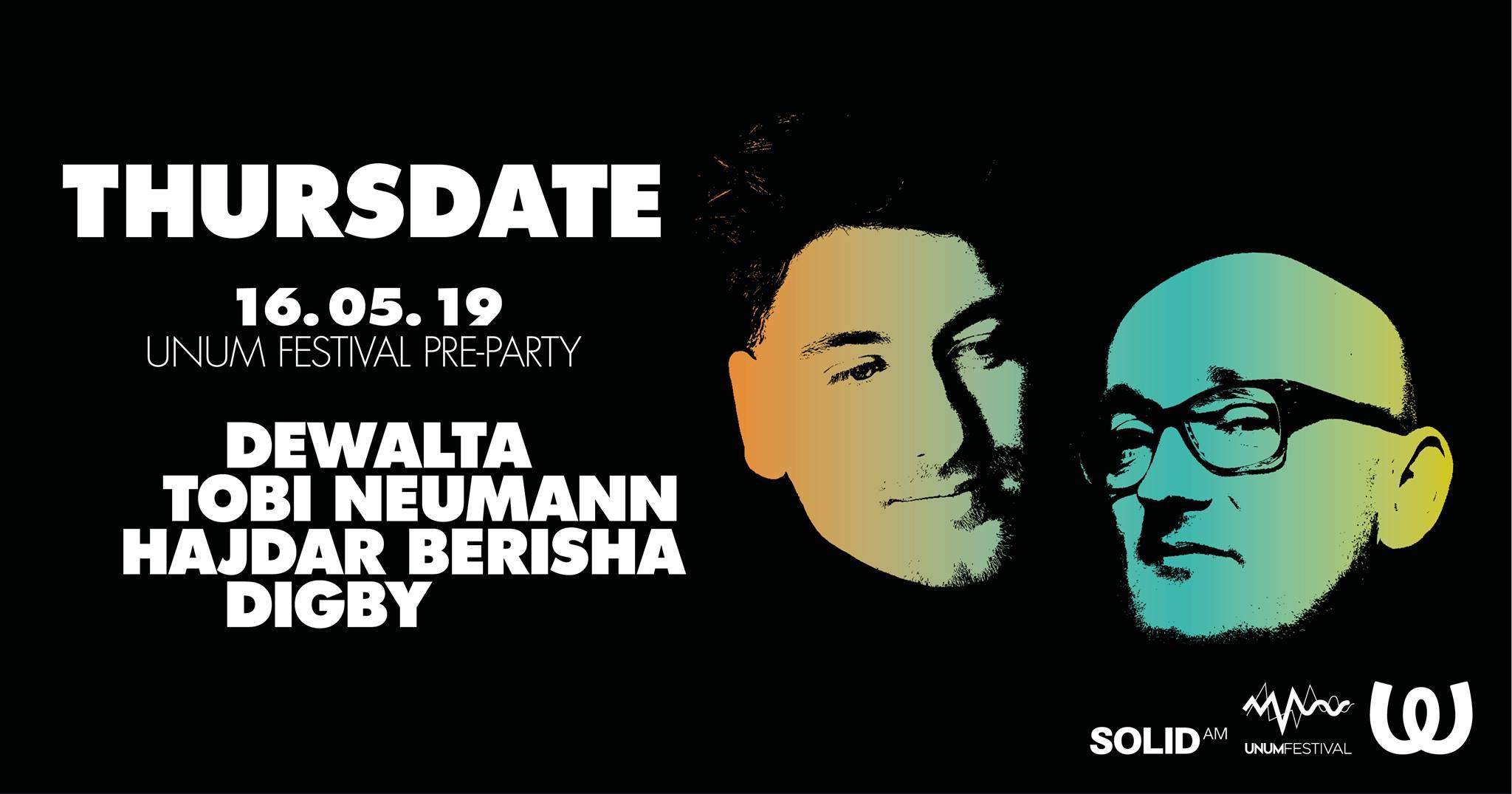 UNUM Pre-Party in Berlin w/ Dewalta, Tobi Neumann, Hadjar Berisha & Digby