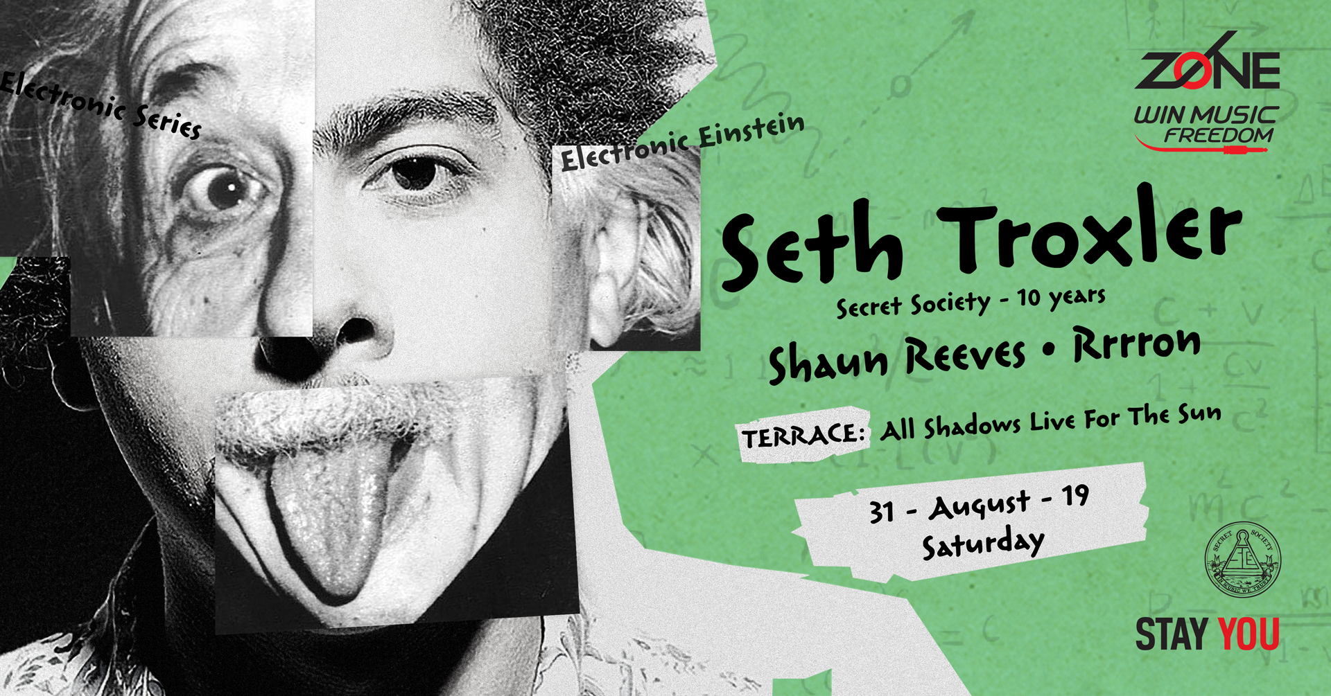 Zone Electronic Kick-off w/ Seth Troxler & Shaun Reeves